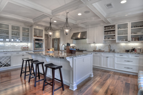 Hi, gorgeous kitchen! I have Bianco Antico granite and am having a ...