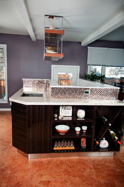 Pamli Palermo Gloss Thermofoil contemporary kitchen