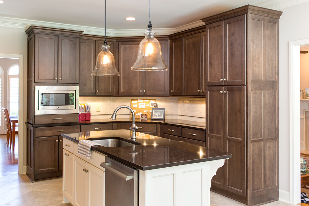 Panorama Brook Kitchen remodel - Transitional - Kitchen ...