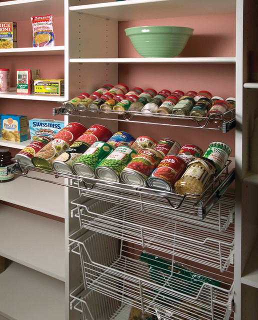 Metro Commercial Pantry Storage: Transitional