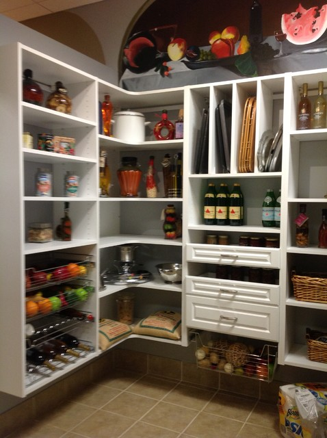 Pantry Closet And Mudrooms Traditional Kitchen Dc
