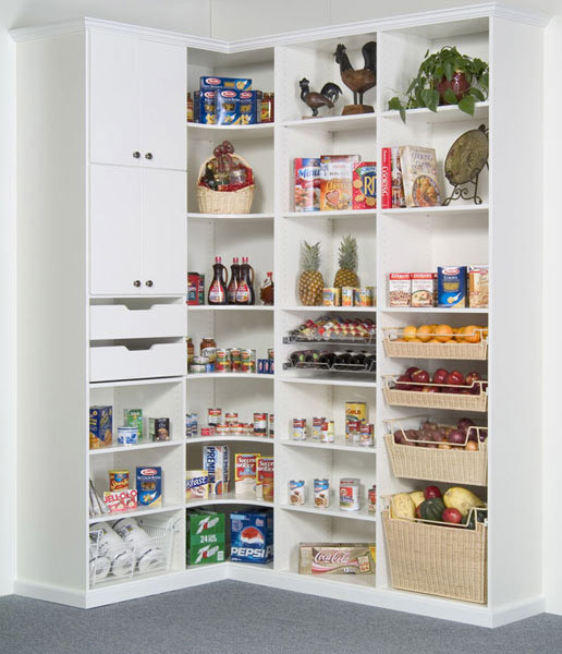 Pantry Traditional Kitchen Chicago By Closet Organizing Systems