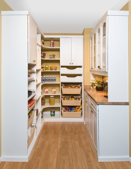 Pantry Traditional Kitchen Chicago By Closet