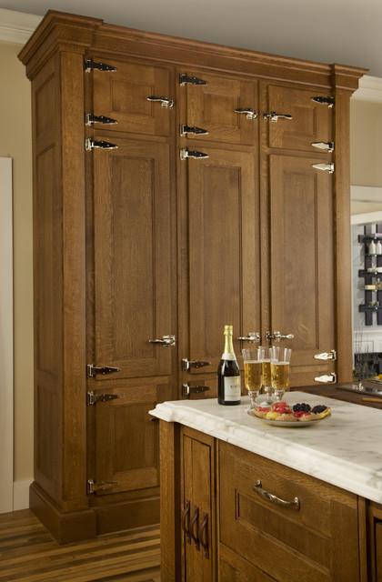 pantry traditional kitchen boston by dalia kitchen