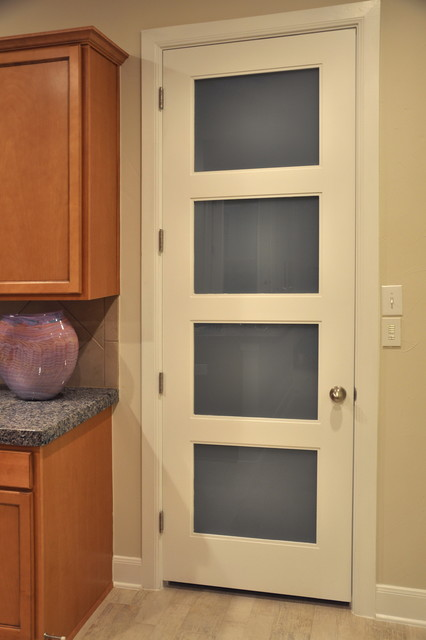 Pantry Door Contemporary Kitchen Other Metro By