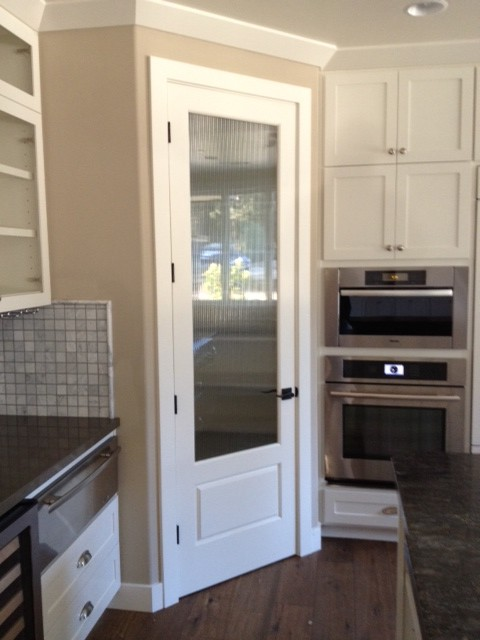 Pantry Doors Traditional Kitchen San Luis Obispo