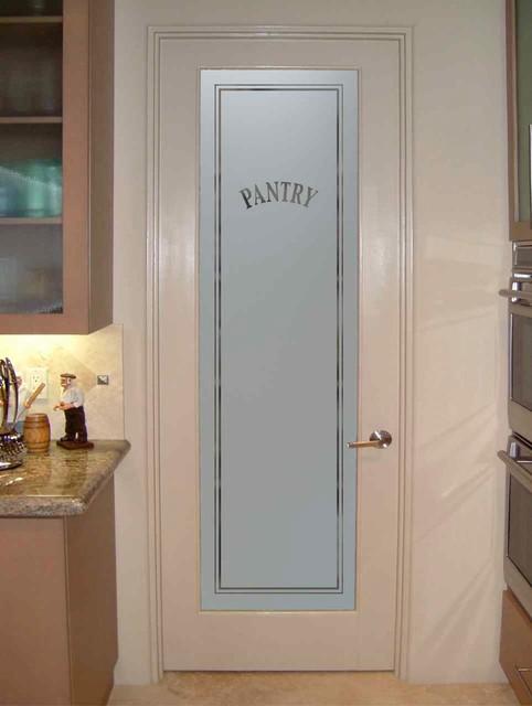 Pantry Doors Sans Soucie Classic Pantry Door Eclectic Kitchen