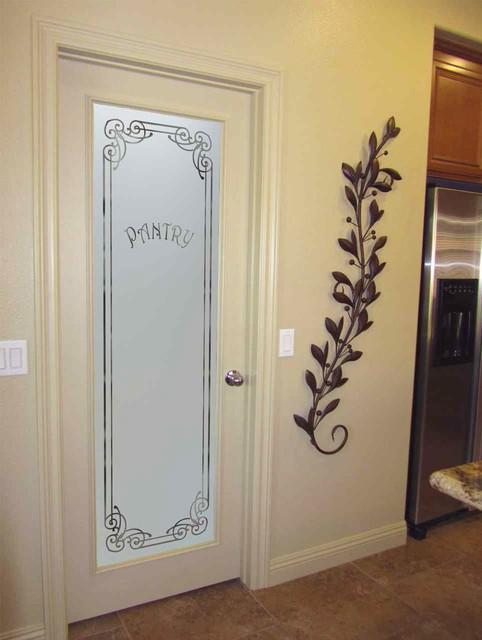 Pantry Doors - Sans Soucie Naples Glass Pantry Door ...