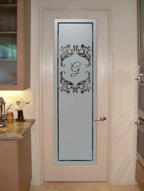 Pantry Doors - Sans Soucie Toulouse Monogram Pantry Door eclectic-kitchen & Pantry Doors - Sans Soucie Toulouse Monogram Pantry Door - Eclectic ...