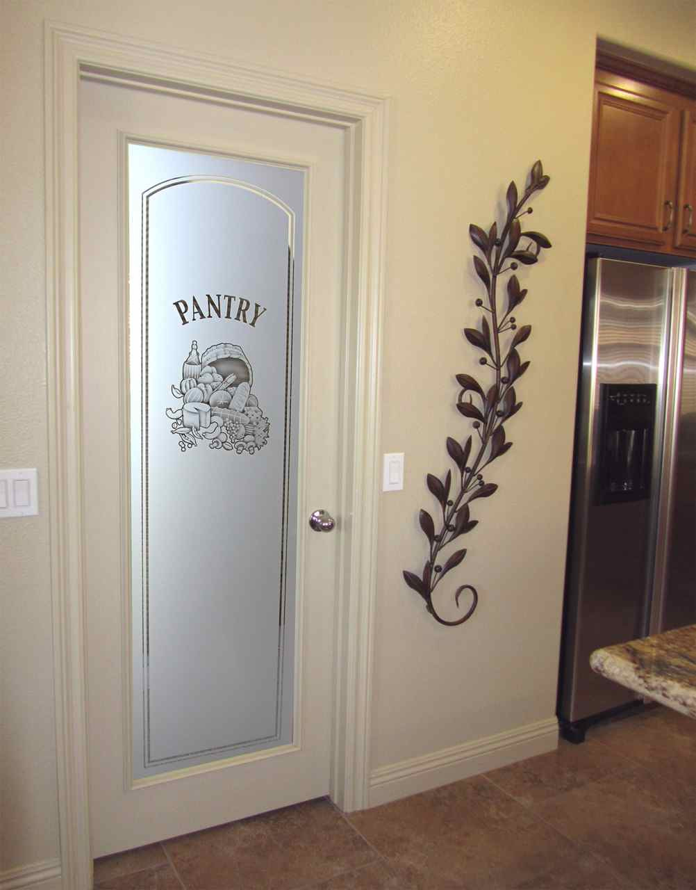 Frosted Glass Pantry Doors Houzz
