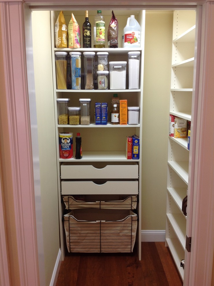 Pantry Ideas - Traditional - Kitchen - Manchester - by Tailored Living of Southern & Seacoast NH