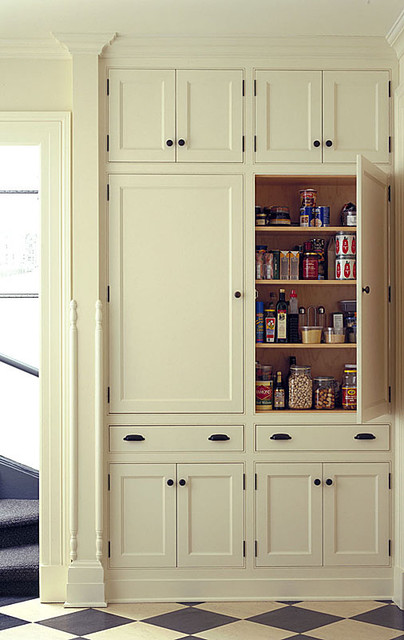 Pantry Traditional Kitchen Burlington By Kenzer