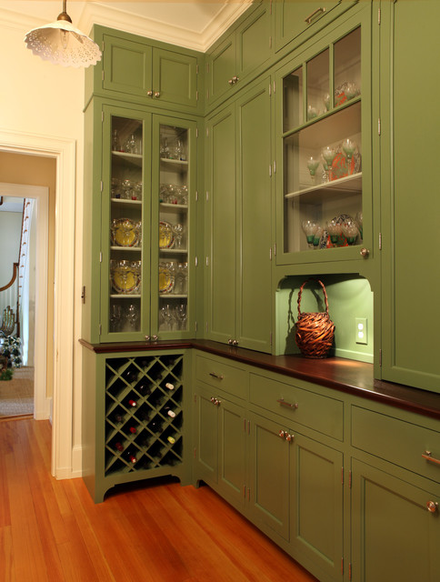 Pantry - Traditional - Kitchen - new york - by Lasley ...