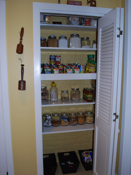 Louvered Pantry Doors Home Design Ideas, Pictures, Remodel and Decor