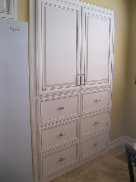 Pantry remodel traditional-closet