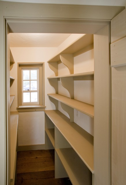 Pantry Shelves Traditional Kitchen Philadelphia By