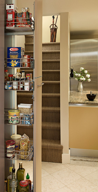 Pantry storage contemporary-kitchen