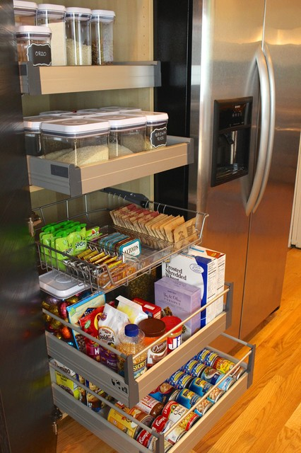 Pantry Storage Solution contemporary-kitchen