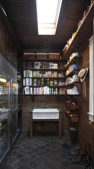 Pantry eclectic kitchen