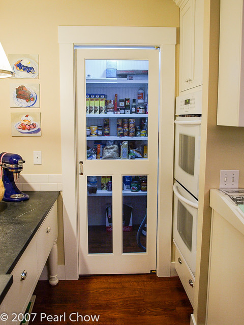 Pantry With Screen Door