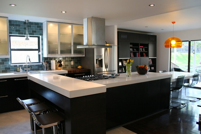Paola DeValdenebro contemporary-kitchen