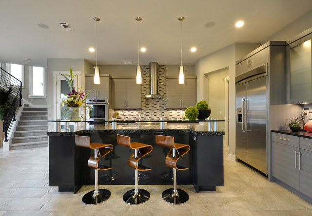 Parade Home Contemporary Kitchen Austin By Pillar