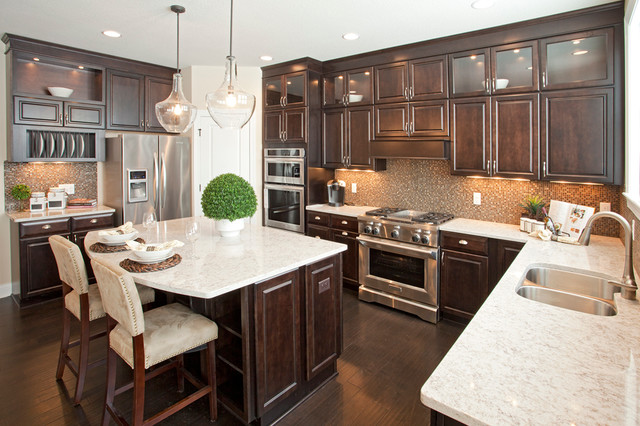 Parade of Homes traditional-kitchen