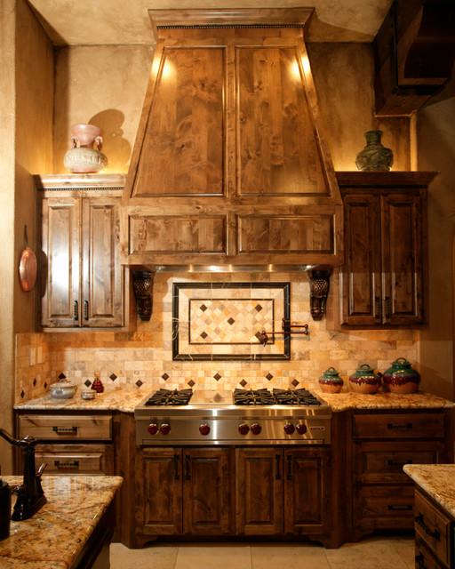 Mediterranean Kitchen Backsplash Ideas: 2008 Parade Of Homes Rock Wall Ranch, New Braunfels, Texas