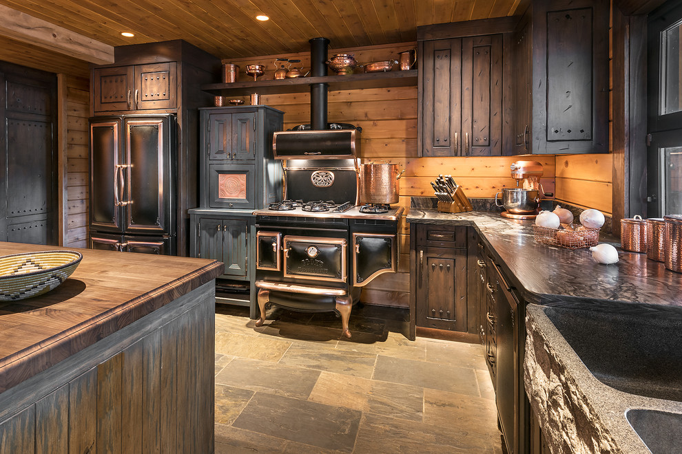 Paradise in the Pines - Rustic - Kitchen - Phoenix - by ...