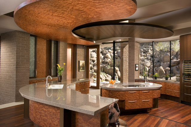 Paradise Valley, Arizona contemporary-kitchen