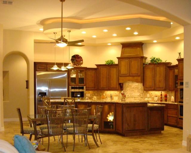 Paradise Valley Az Traditional Kitchen Phoenix By D 39 Amore Interior Design Studio