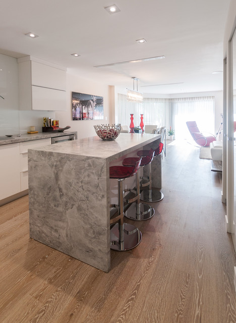 Coconut Grove Private Residence Contemporary Kitchen