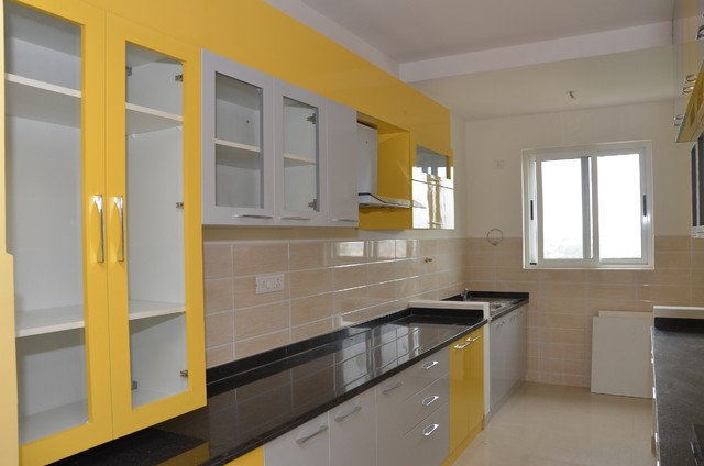 Parallel Modular Kitchens In India Indian Kitchen Bengaluru By Scale Inch Pvt Ltd Houzz Au