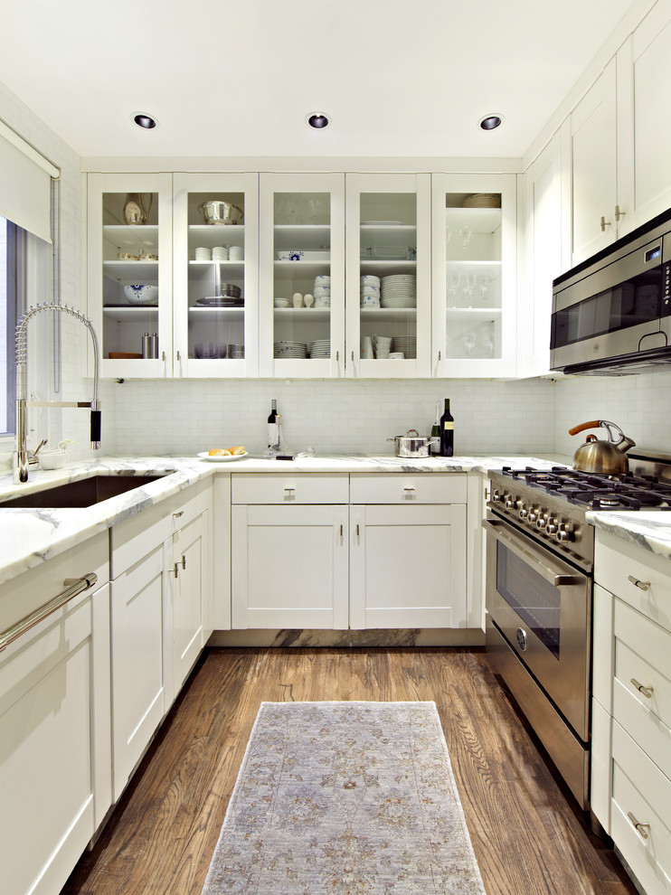 Park Avenue Family of Four - Transitional - Kitchen - New ...