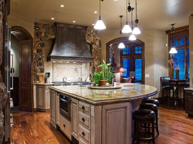 Park City Quarry Mountain Home Contemporary Kitchen