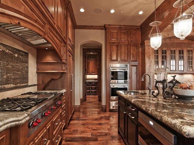 Park City Utah Showcase of Homes by Cameo Homes Inc. traditional-kitchen
