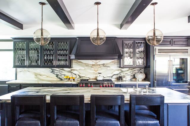Park Estates Residence transitional-kitchen