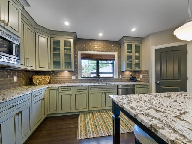 Park Hill Renovation traditional-kitchen