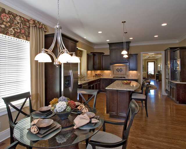 Park Manor Model Home traditional-kitchen
