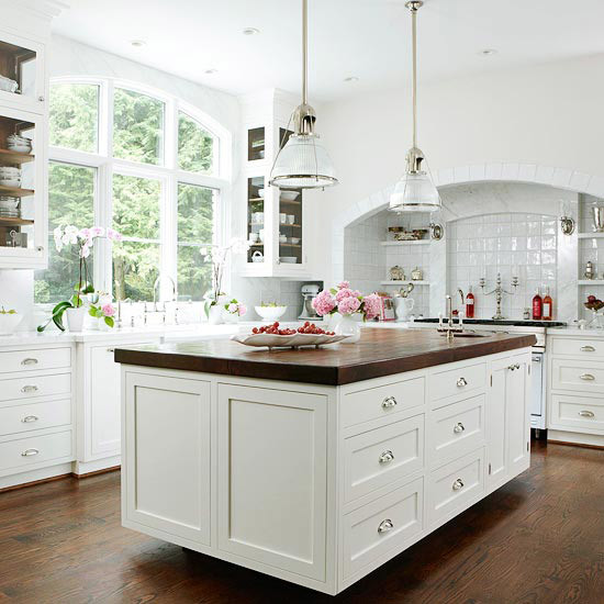 Traditional Open Concept Kitchen: Park Residence Traditional-kitchen