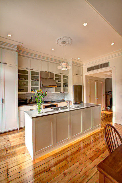 Park Slope Brownstone 2 Eclectic Kitchen New York