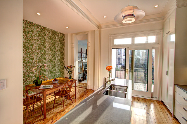 Park slope brownstone 2 eclectic kitchen new york for Brownstone kitchen ideas