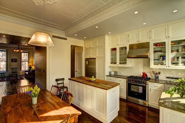 Park Slope Brownstone traditional-kitchen