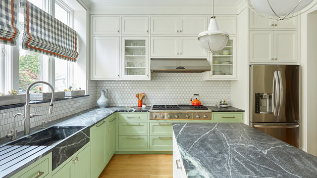 Cooking Up Color: 8 Kitchens That Bring the Green