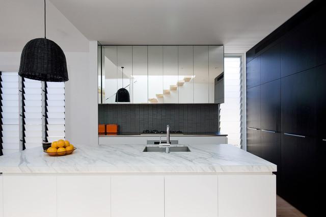 Park St contemporary-kitchen
