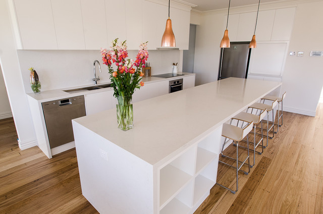 Parkdale - Caesarstone Frosty Carrina Kitchen - Modern ...