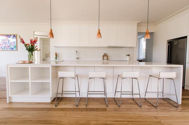 Parkdale Caesarstone Frosty Carrina Kitchen Modern  : modern kitchen from www.houzz.com size 640 x 424 jpeg 65kB