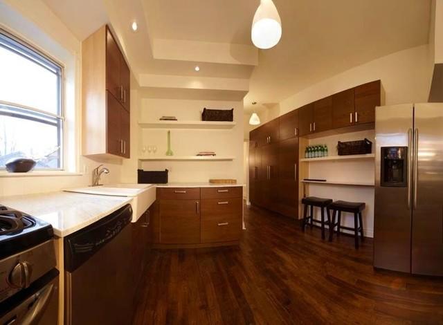 Parkdale House Kitchen Modern Kitchen Toronto By Barber Design Shop