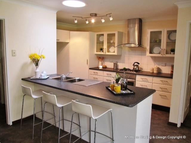 Parkerville Perth Western Australia Transitional Kitchen Perth By Mr Home Staging