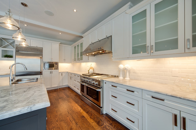 Parkview Hill traditional-kitchen